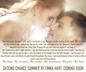 Second Chance Summer tease