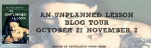 An Uplanned Lesson Blog Tour Banner