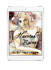 White Ereader Haunted Raine