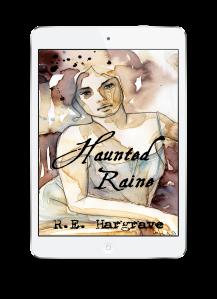 White Ereader Haunted Raine